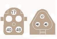 3-х контактный треугольный
